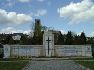 1961 3rd Division Memorial, Chateau Thierry