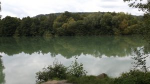 Marne River at the position of the 2/38th Infantry