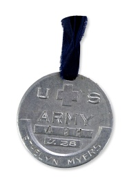 Ethelyn Myers' dog tags