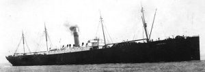 Photograph of a sister ship to the S.S. Kansan