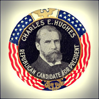 Hughes Campaign Button