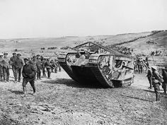 "A ""Tank"" in Action at Flers-Courcelette"