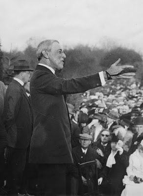 President Wilson Campaigning in New Jersey