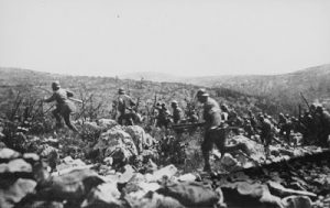 The Italian Army on the Attack